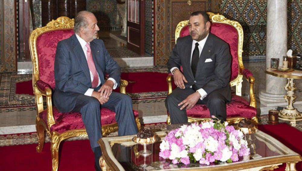Don Juan Carlos y Mohamed VI