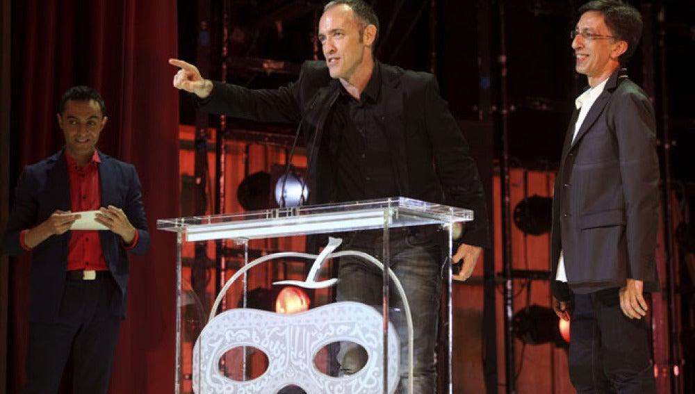 Los creadores de 'La Función por hacer', en los Premios Max