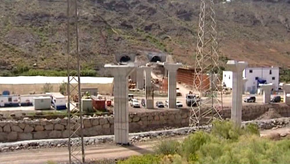 Retrasos en las obras de prolongación de la autopista del sur de GC
