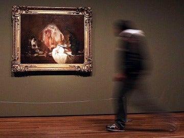 Una obra del pintor Jean Simeón Chardin expuesta en el Museo del Prado.