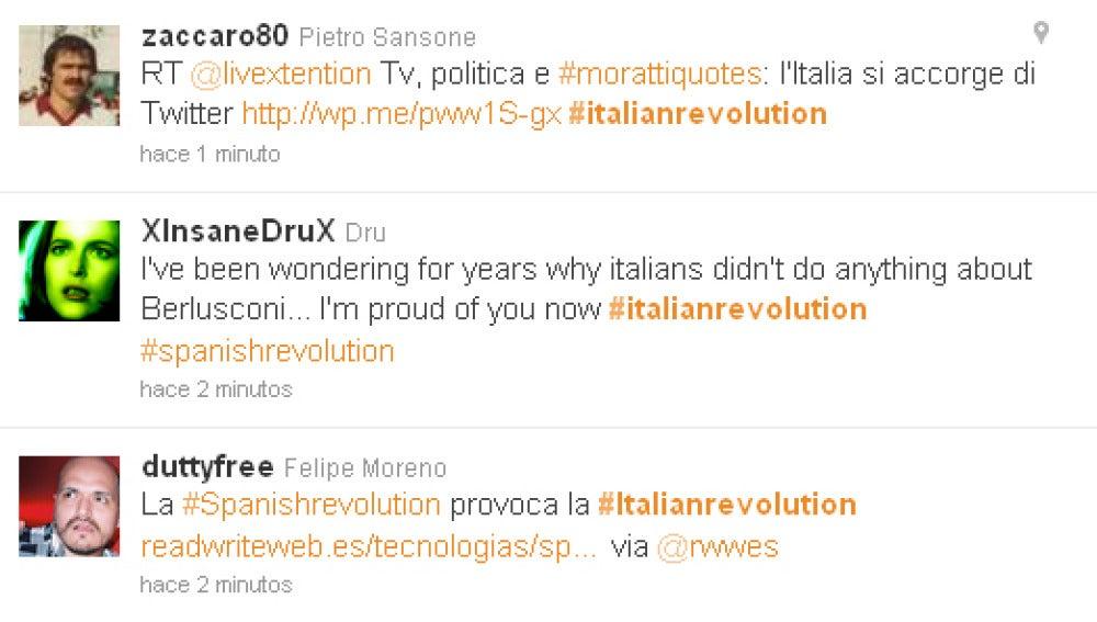 Twitter y la #ItalianRevolution