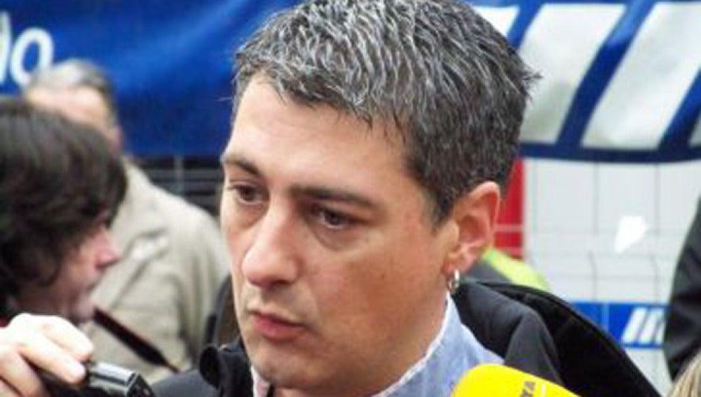 Oscar Matute, dirigente de Bildu