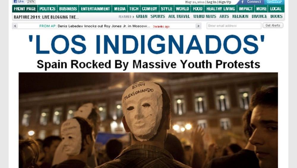 Portada del Huffington Post