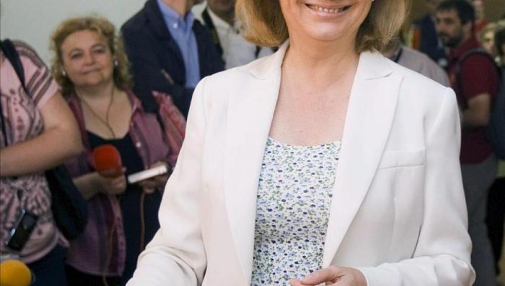 La candidata del PP a la Presidencia del Gobierno de Aragón, Luisa Fernanda Rudi