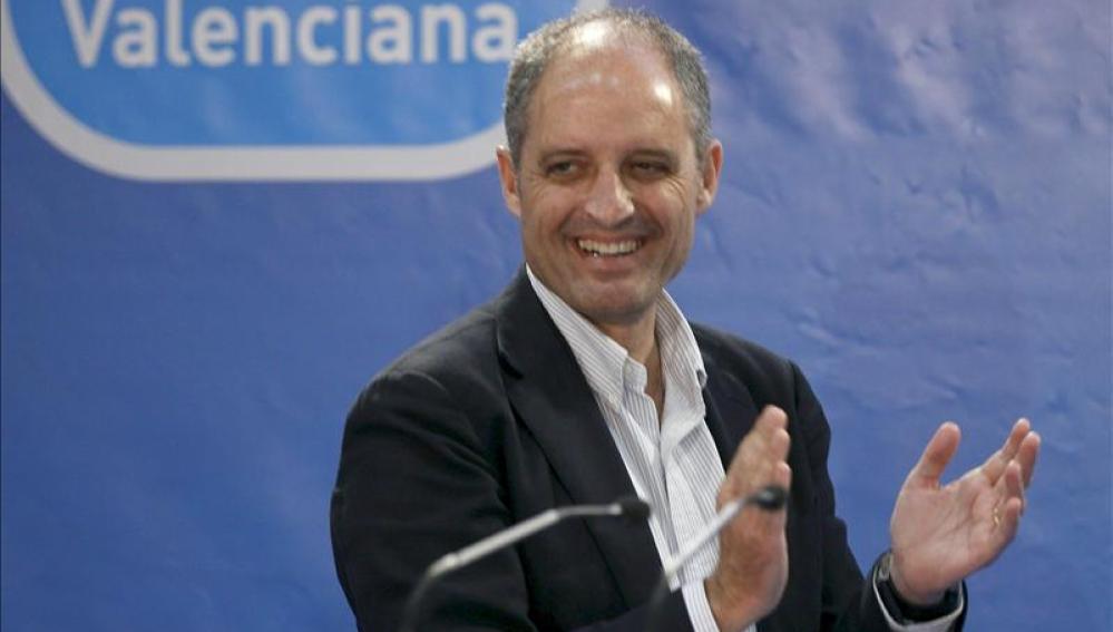 Camps revalidaría su triunfo en la Comunidad Valenciana