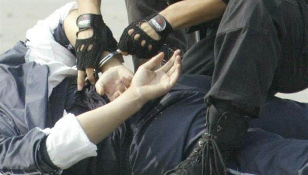 Una detención (Archivo)