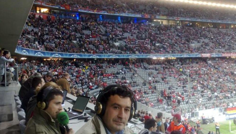 Alfredo Martínez, la voz del fútbol en Onda Cero