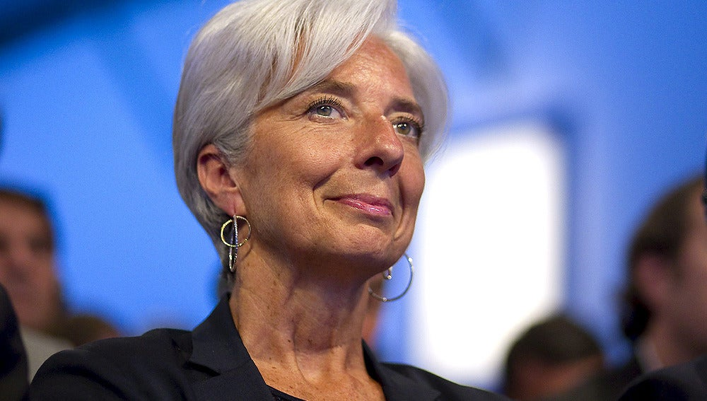 Christine Lagarde, en el G8