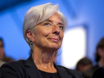 Christine Lagarde, en el G8