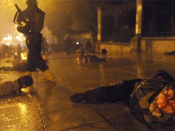 Brutal represión policial en Georgia
