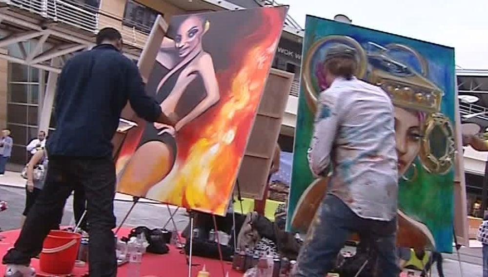 Batalla de arte en Valencia