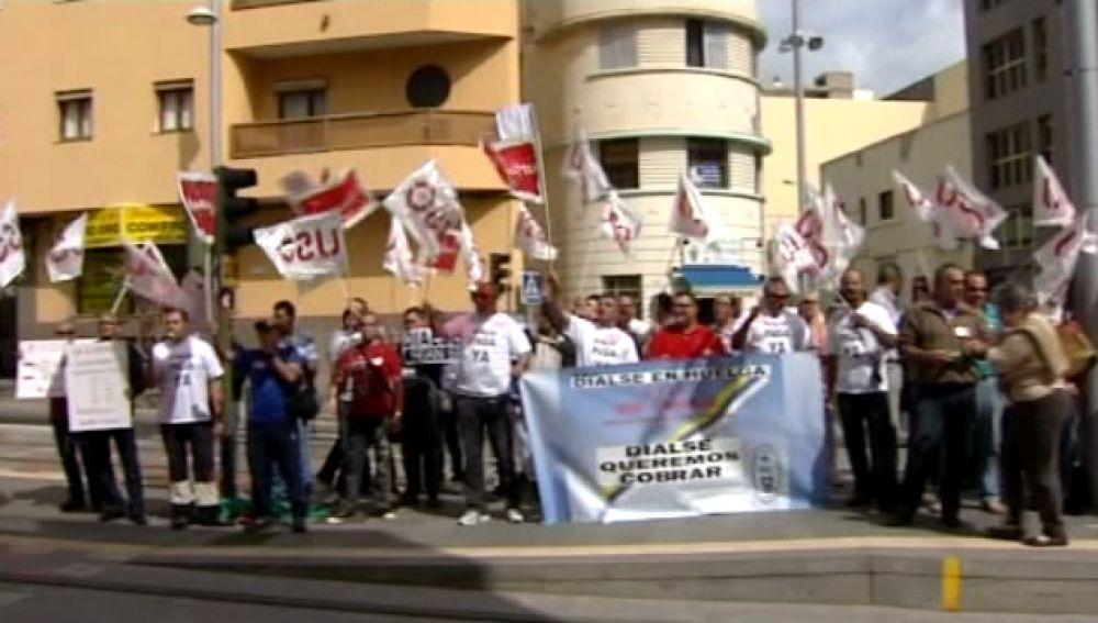 En huelga los trabajadores de seguridad en Puertos