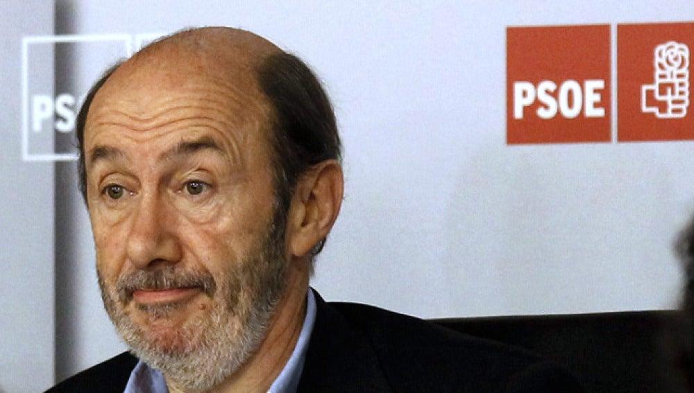 Rubalcaba en el Comité Federal del PSOE