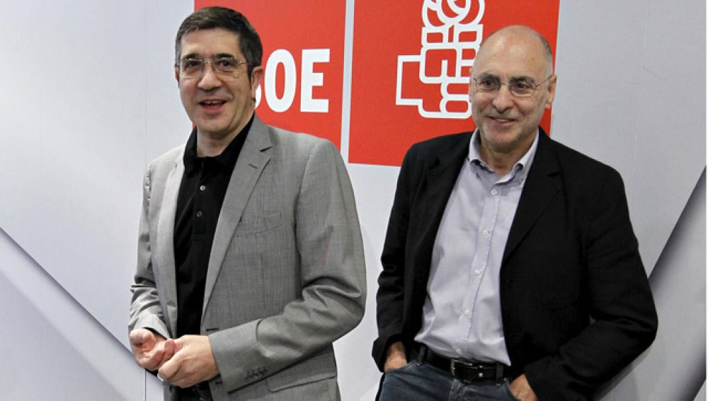 Patxi López y Rodolfo Ares