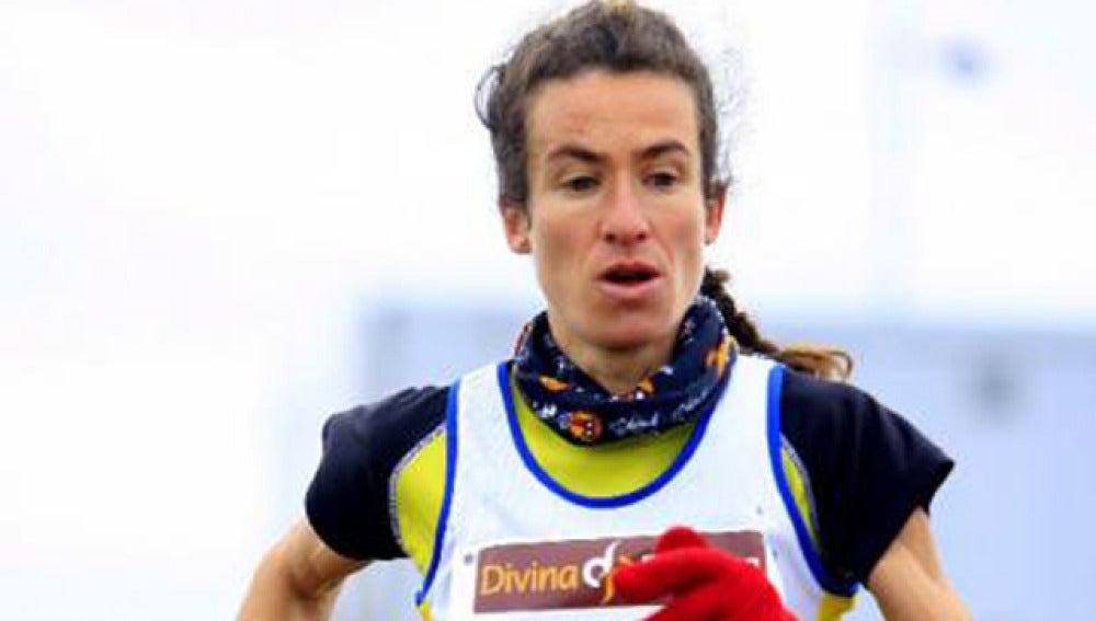 Elena Espeso, atleta afectada