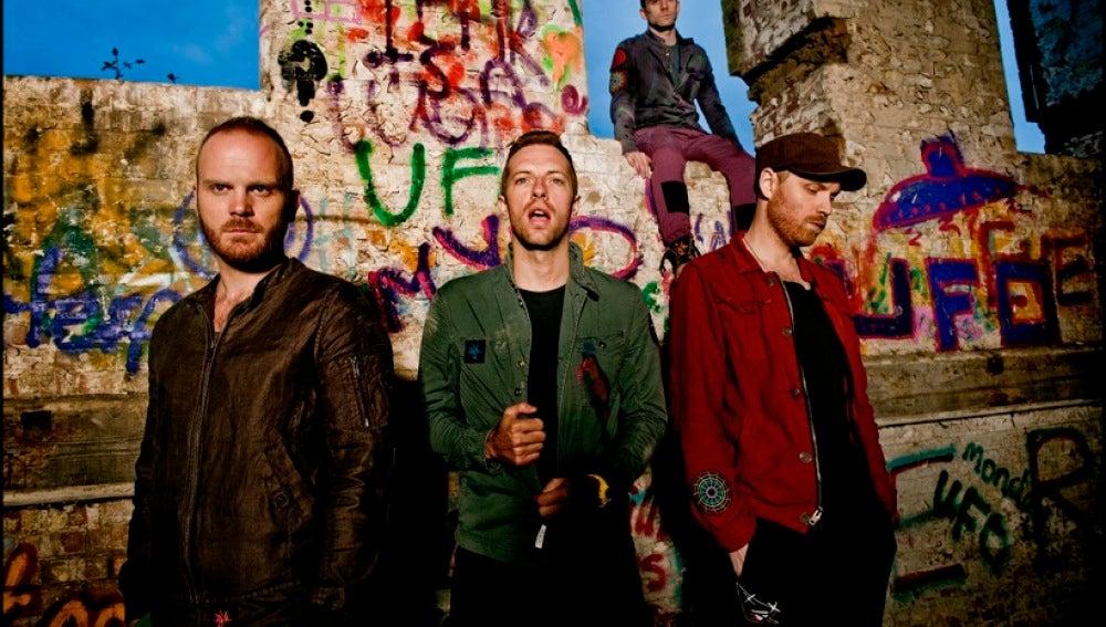 El grupo inglés Coldplay