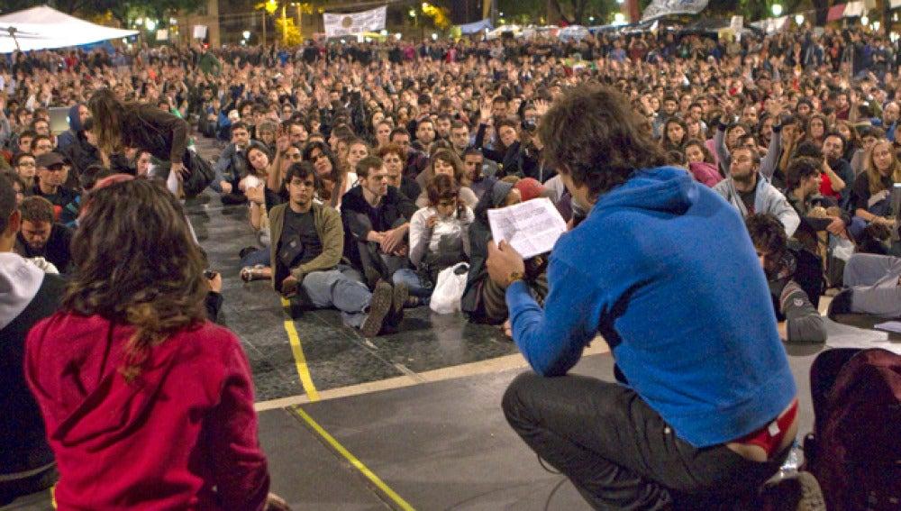 Asamblea de plaza Catalunya