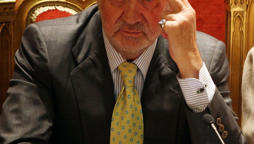 El Rey Don Juan Carlos, en una comparecencia pública