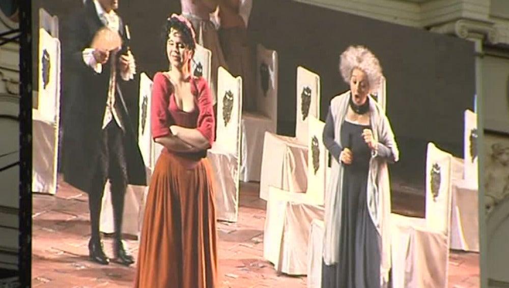 Ópera en las calles de Madrid