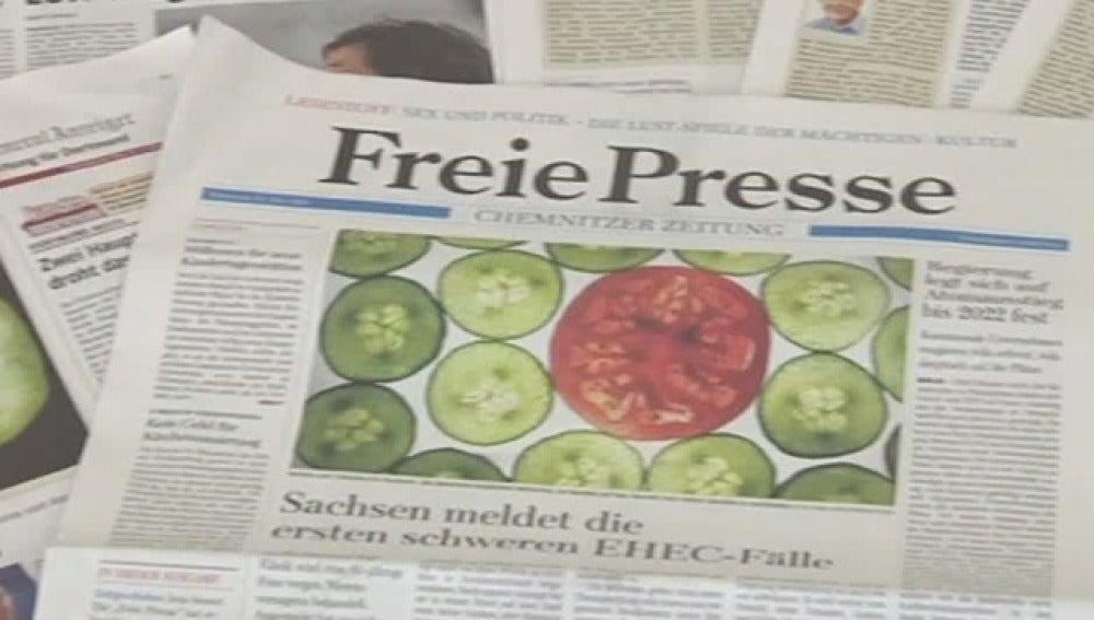 Pepinos en la prensa