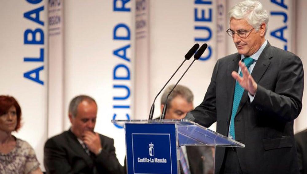 El presidente en funciones de Castilla-La Mancha, José María Barreda