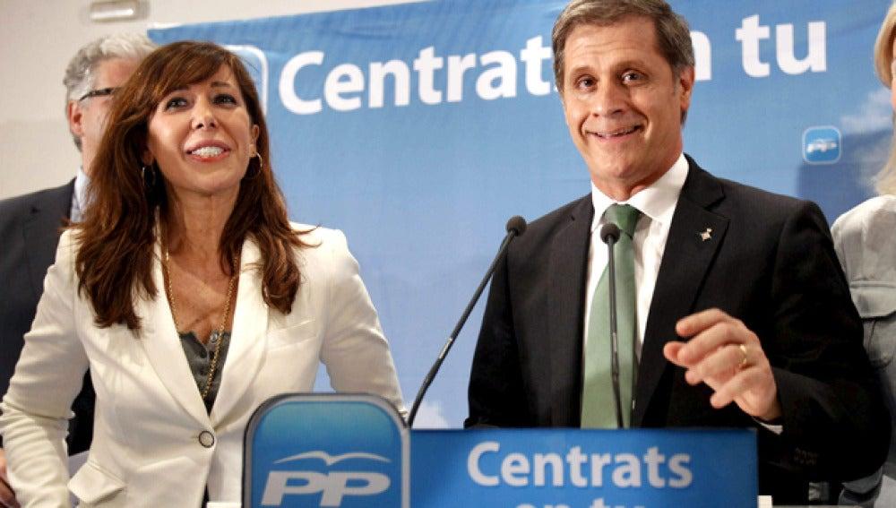 Alicia Sánchez Camacho y Alberto Fernández Díaz