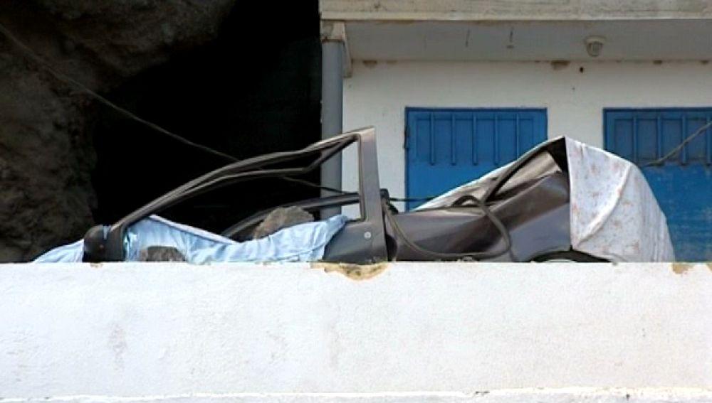 Desalojados en Güimar por un desprendimiento