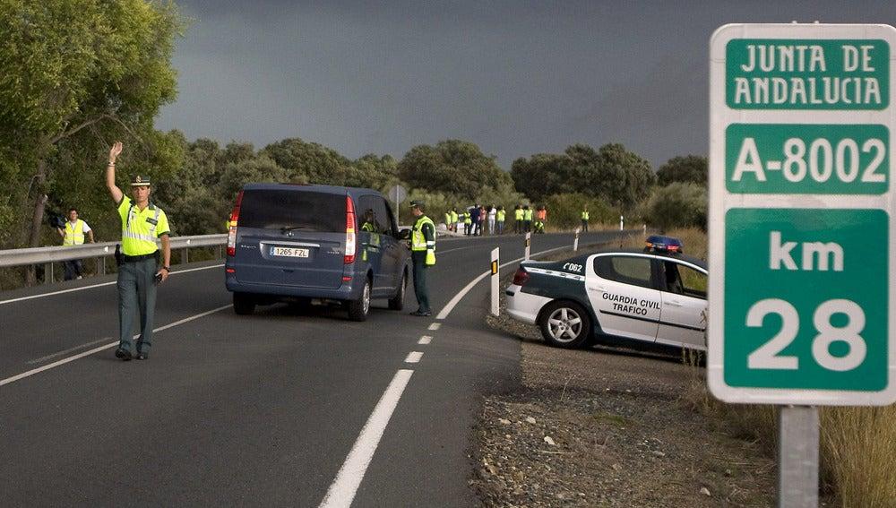 Reconstrucción del accidente de Ortega Cano