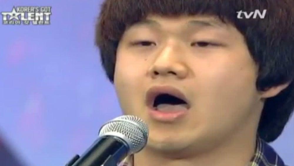 Un coreano que triunfa en televisión