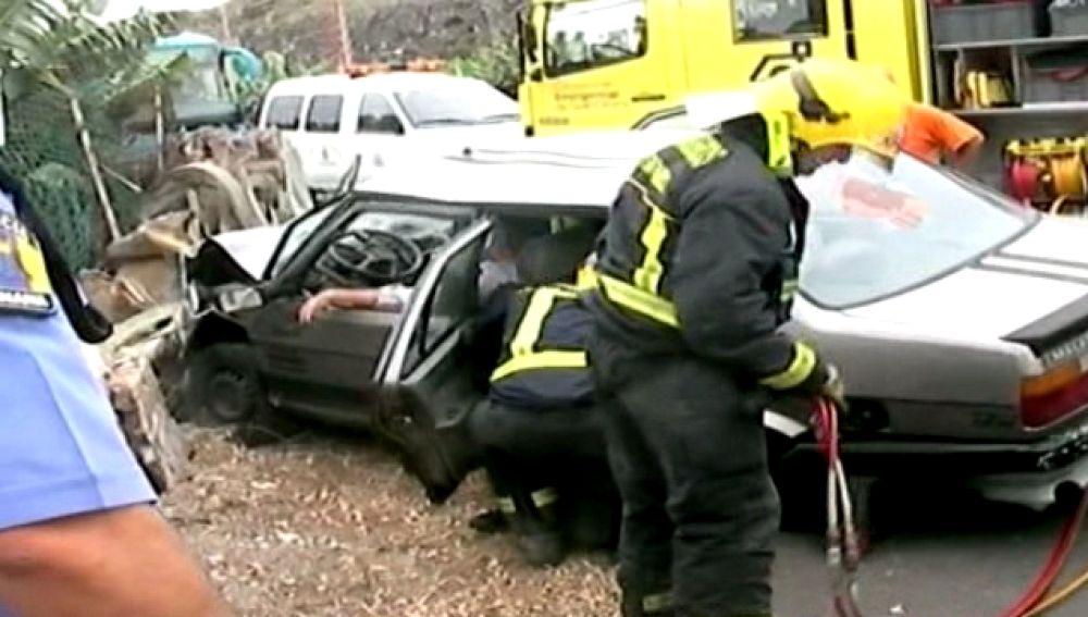 Grave tras un accidente en Bañaderos