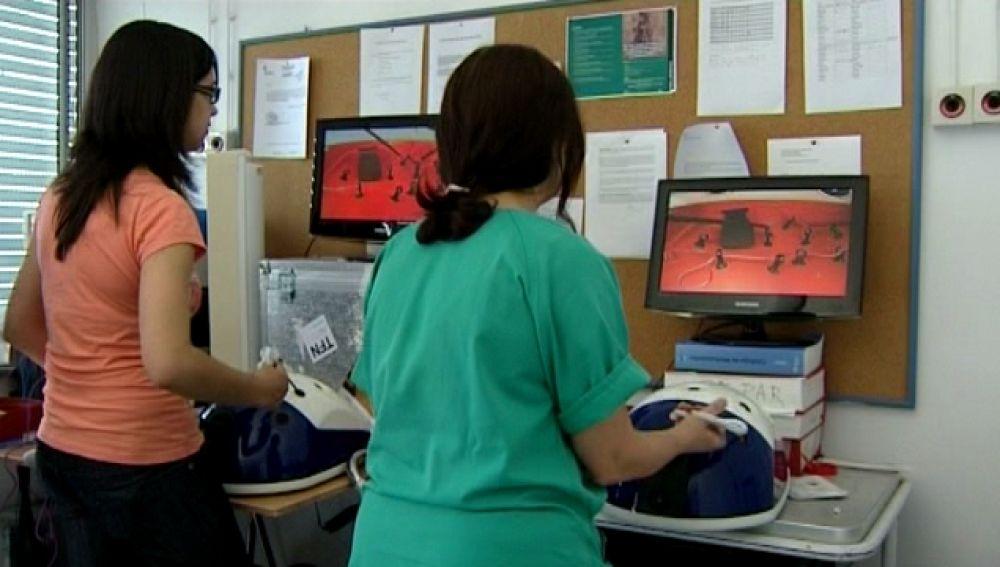Videojuegos para aprender a operar con laparoscopia
