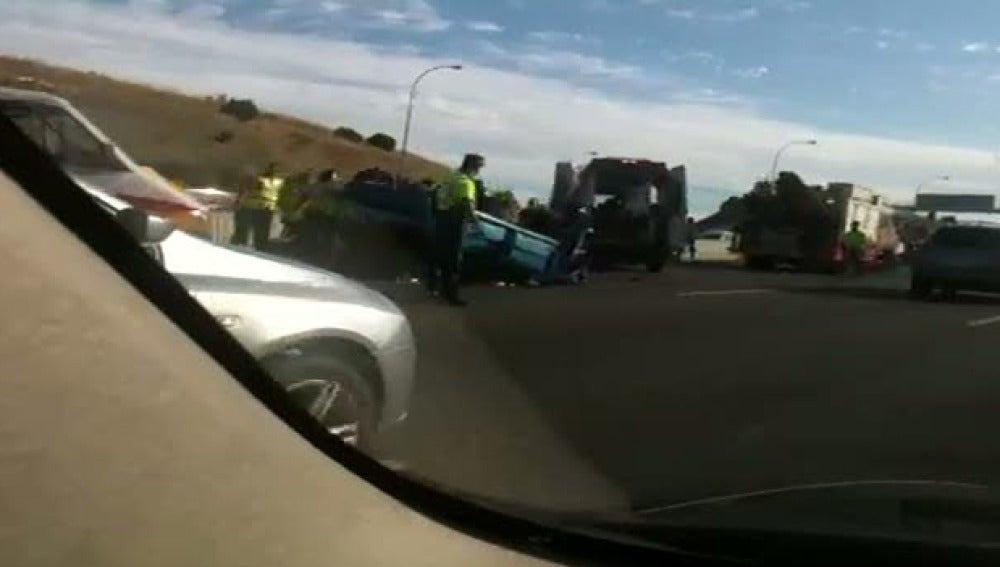 Accidente de tráfico en la M40