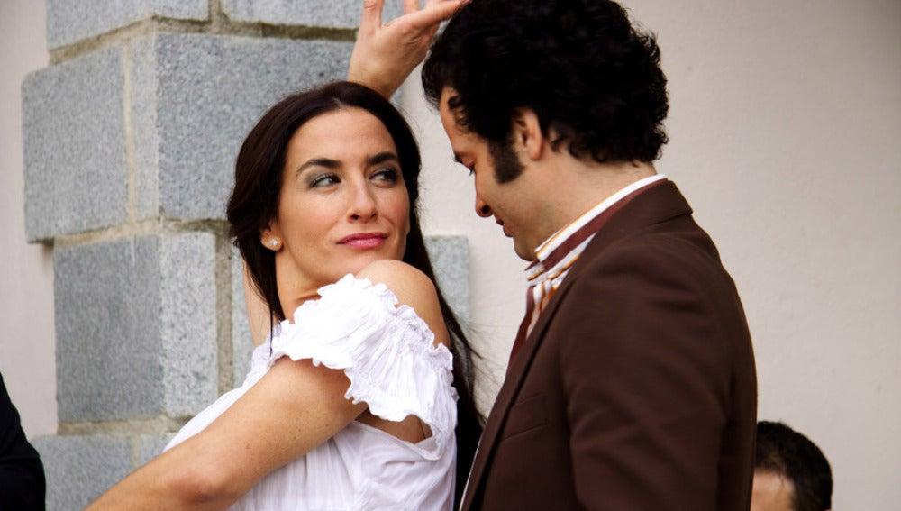 Julia vivirá una historia de amor con Juan José Romero