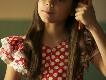 Pilar Bogardo interpreta a Julia de niña