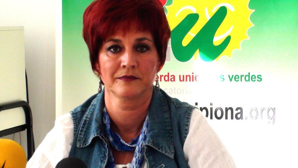 Isabel María Fernández, candidata a la alcaldía de Chipiona por IU