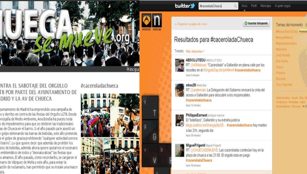 La manifestantes han creado distintas plataformas en la red para reivindicar la causa.