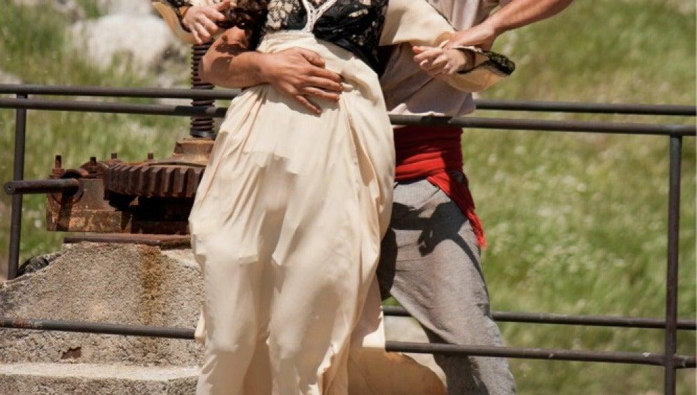 Roberto salva a Eugenia