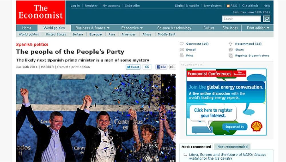 The Economist sobre Rajoy