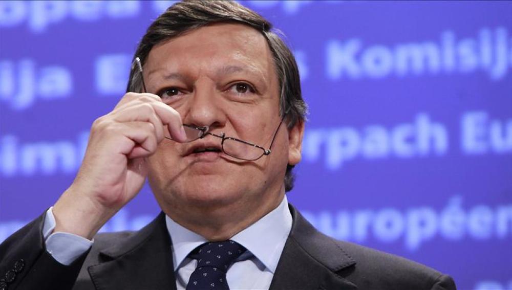 El presidente de la Comisión Europea, José Manuel Durao Barroso