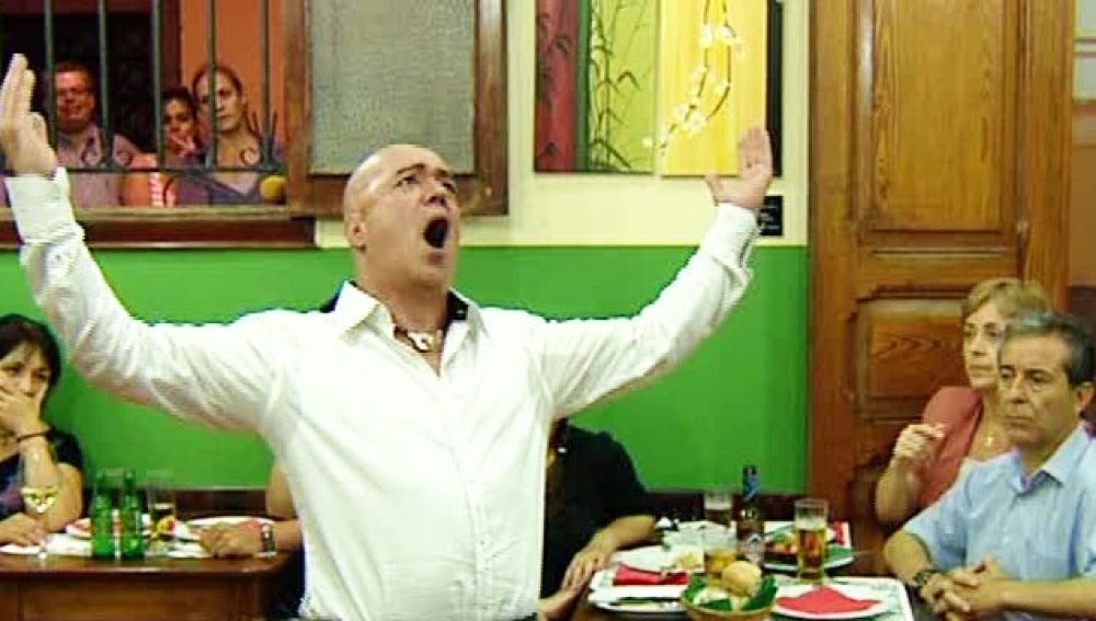 Ópera en el restaurante