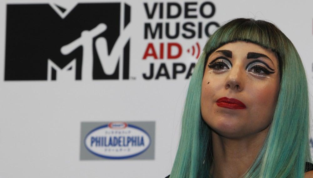 Lady Gaga, en cu comparecencia en Tokio.