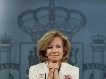 La vicepresidenta segunda y ministra de Economía, Elena Salgado