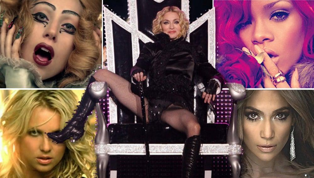 Duelo de divas por el trono de Madonna