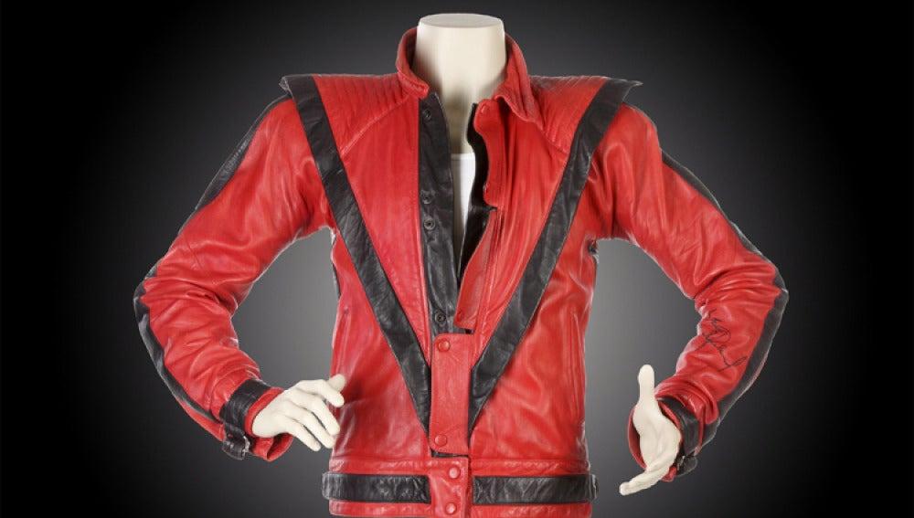 La chaqueta de Thriller