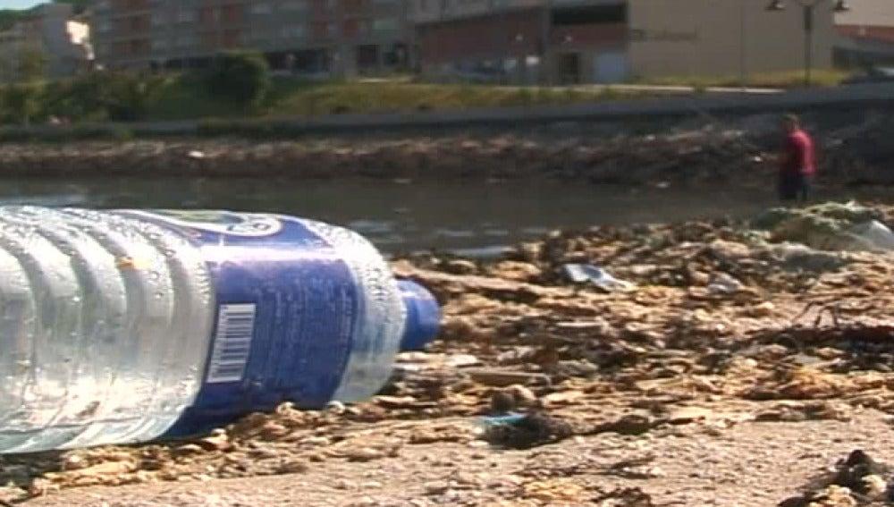 Suciedad en las playas españolas