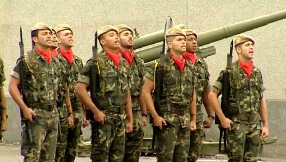 El Príncipe preside el funeral por los dos soldados fallecidos