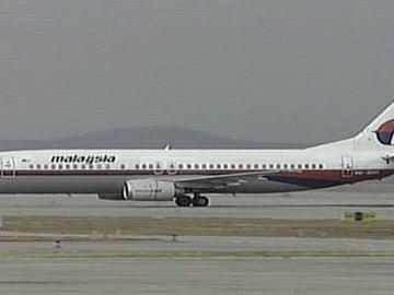Un avión de Malasia Airlines
