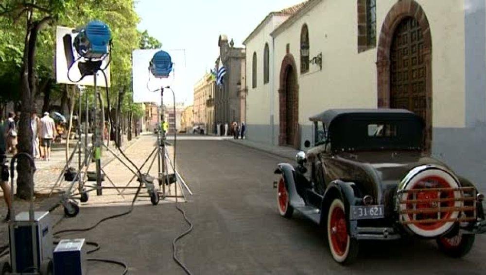 Montevideo en pleno casco histórico de La Laguna