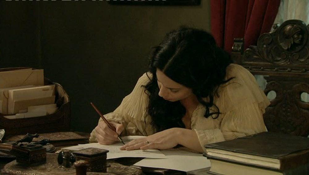 Martina escribe a su amor, Jorge.