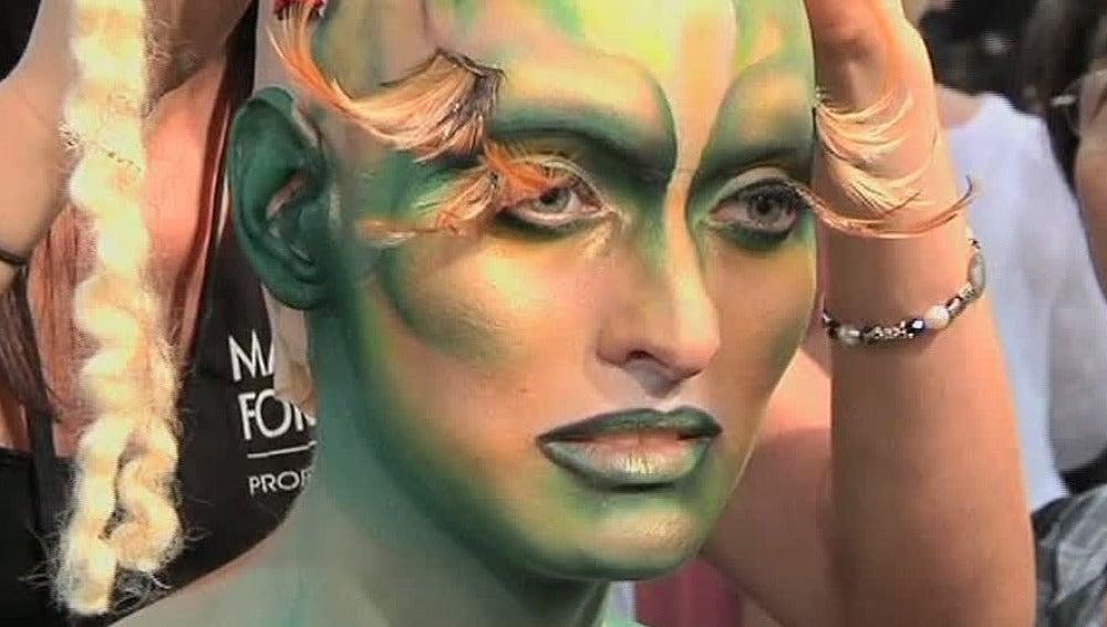 Feria de maquillaje en Los Ángeles